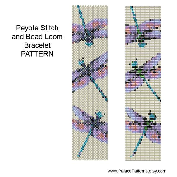 Holiday Sale Bracelet Pattern for Bead Loom Weaving or Peyote Stitch ...