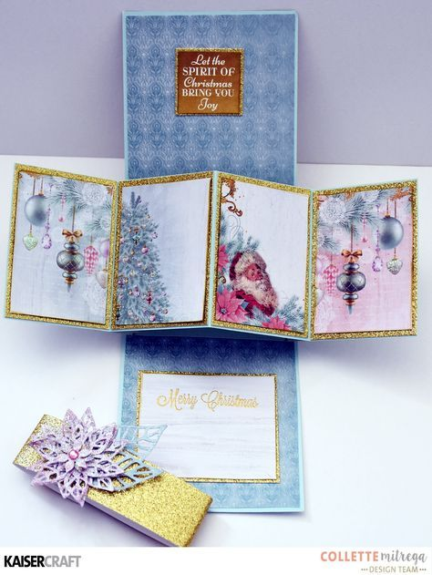 A Step By Step How To Guide For This Great Card That Twists And Pops When Fancy Fold Cards Card Patterns Card Tutorials