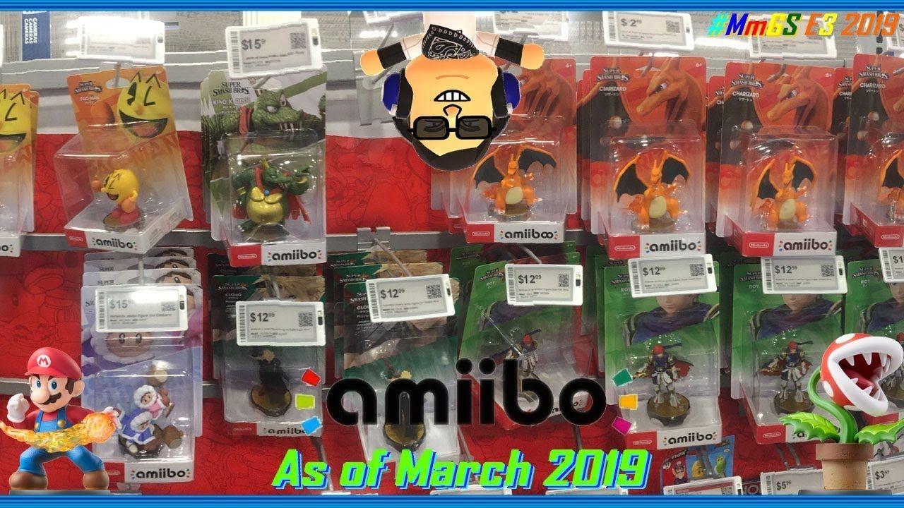 E3 2019 PreHype Sp. Vlog Amiibo as of 32019 Amiibo