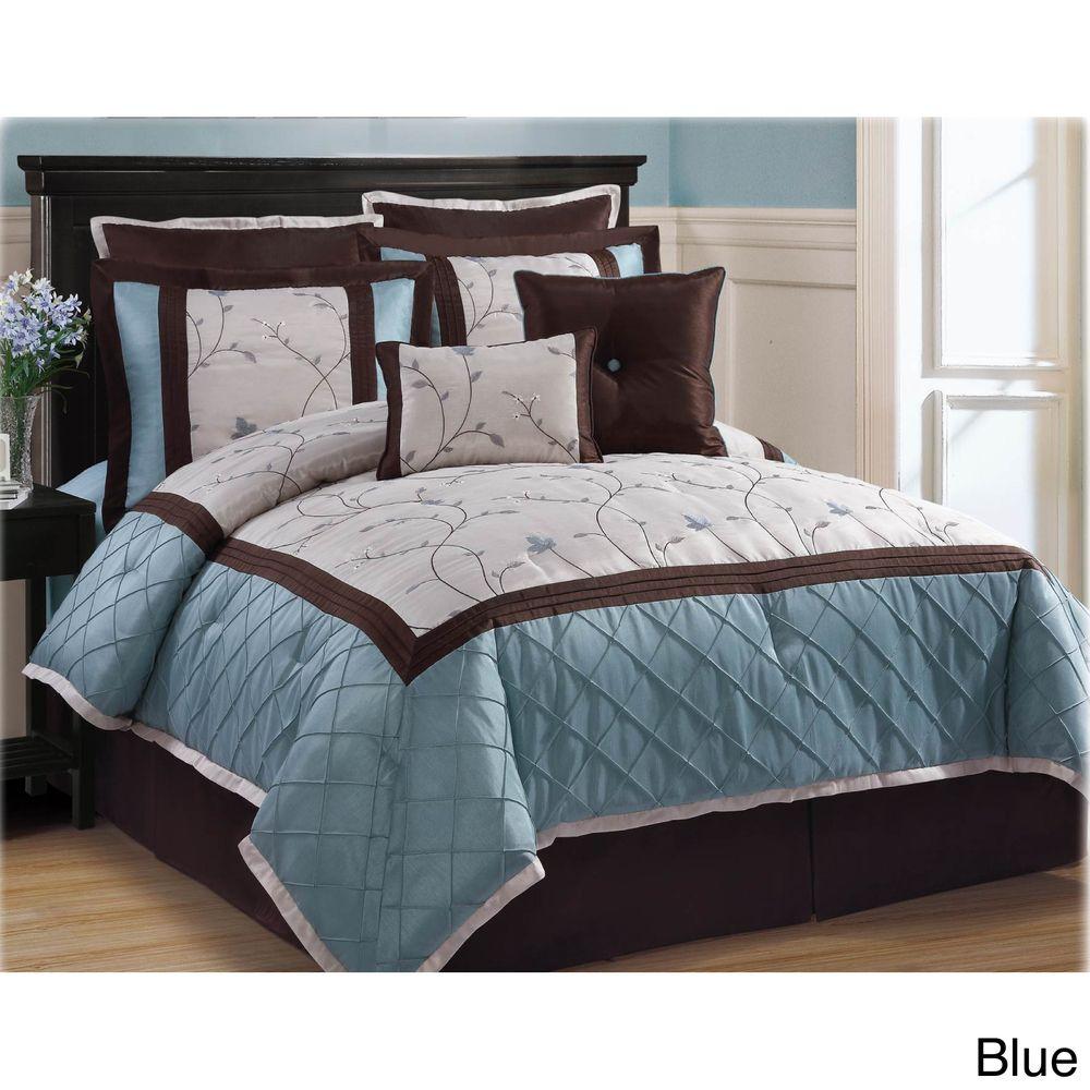 Overstock Com Tips Ideas: Alexandra 8-piece Comforter Set