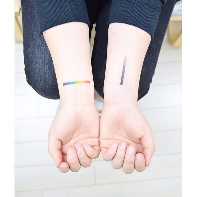 타투이스트 바늘 @tattooist_banul :Rainbow & G...Instagram photo | Websta (Webstagram)