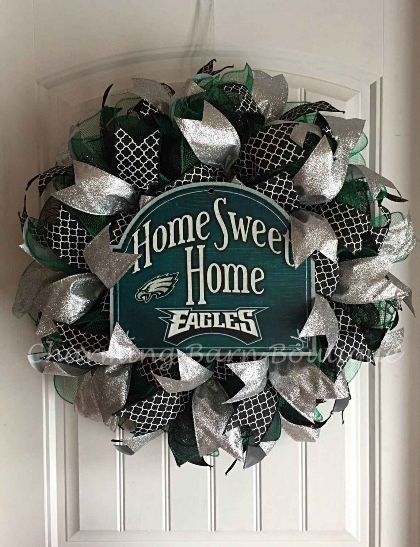 Custom Order For Leanne Philadelphia Eagles Wreath Nfl Decor Football