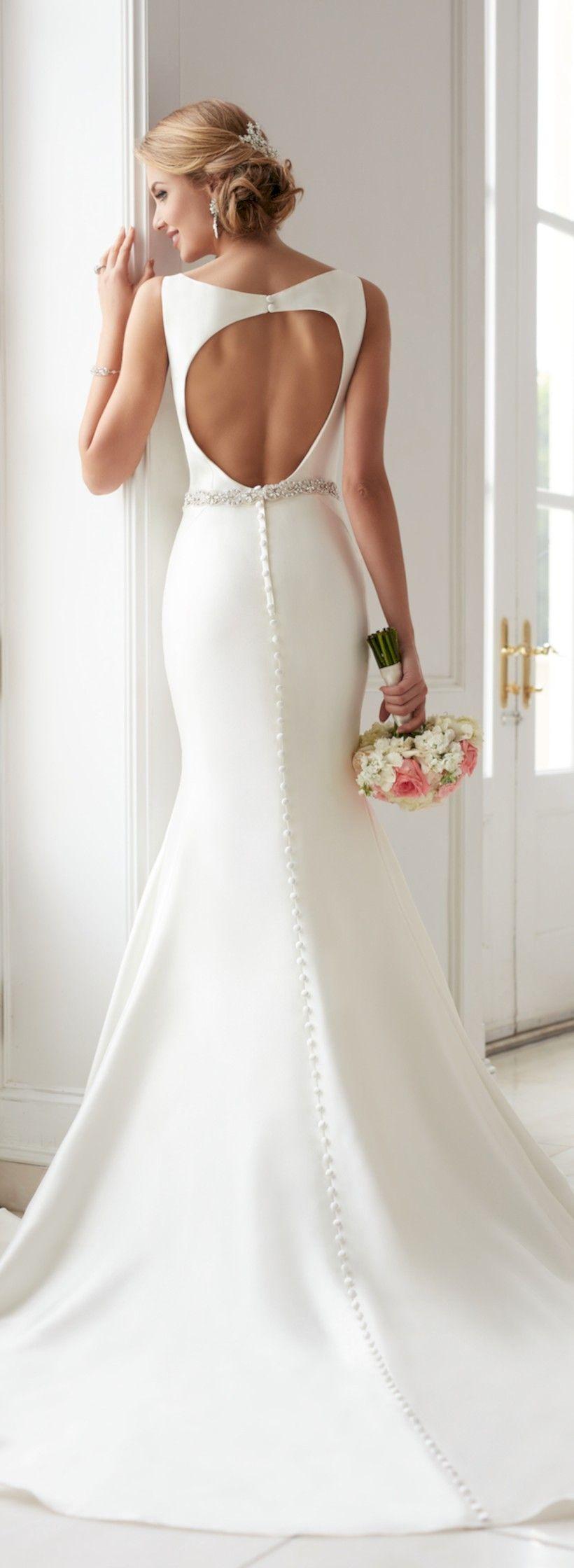 awesome 55 Vintage Winter Wedding Dress Ideas 2017 https://viscawedding.com/2017/10/09/55-vintage-winter-wedding-dress-ideas-2017/
