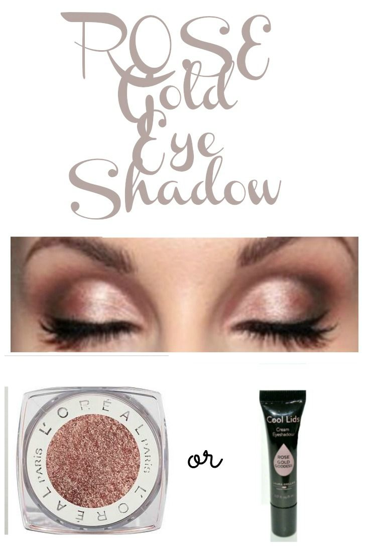 Rose Gold Eyeshadow The 2 Colors That Look Hot On Any Woman