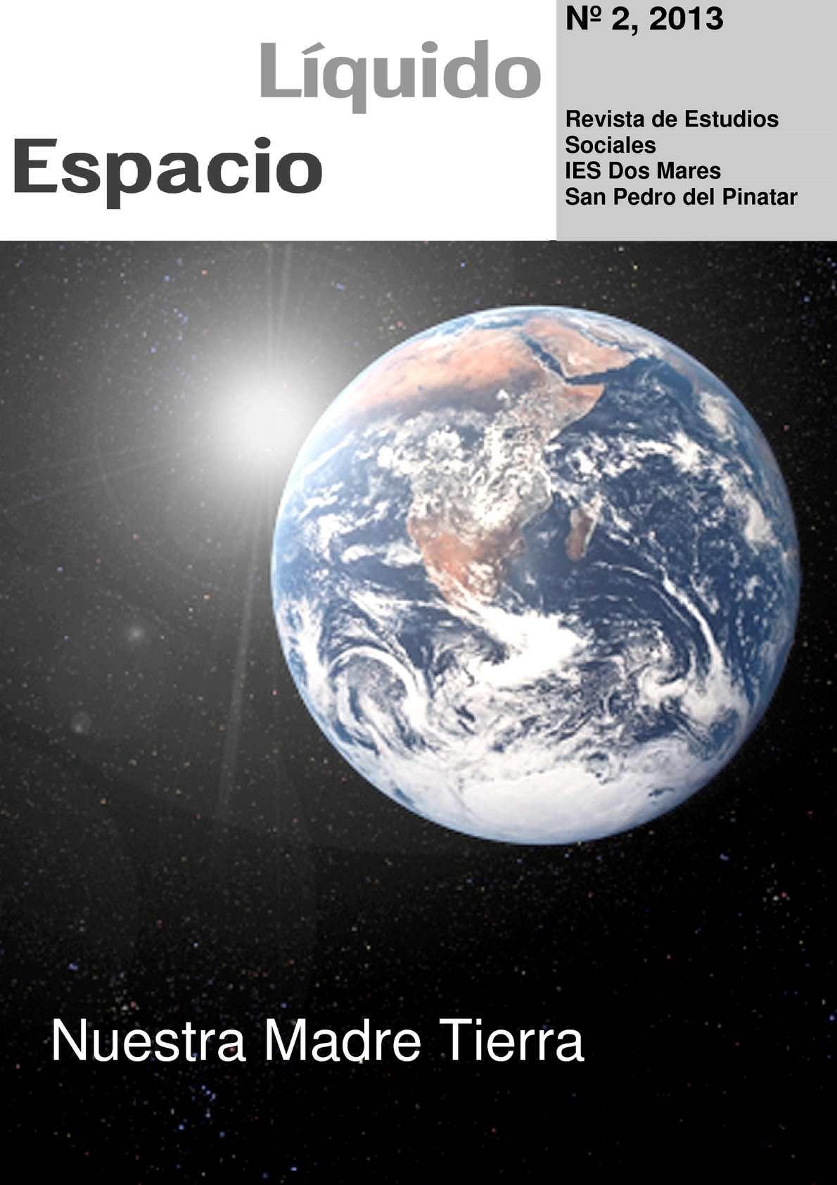 Segundo número de la revista elaborada por alumnos de Geografía de 3º de ESO del IES Dos Mares de San Pedro del Pinatar (Murcia), dedicada monográficamente al medio ambiente y su conservación.