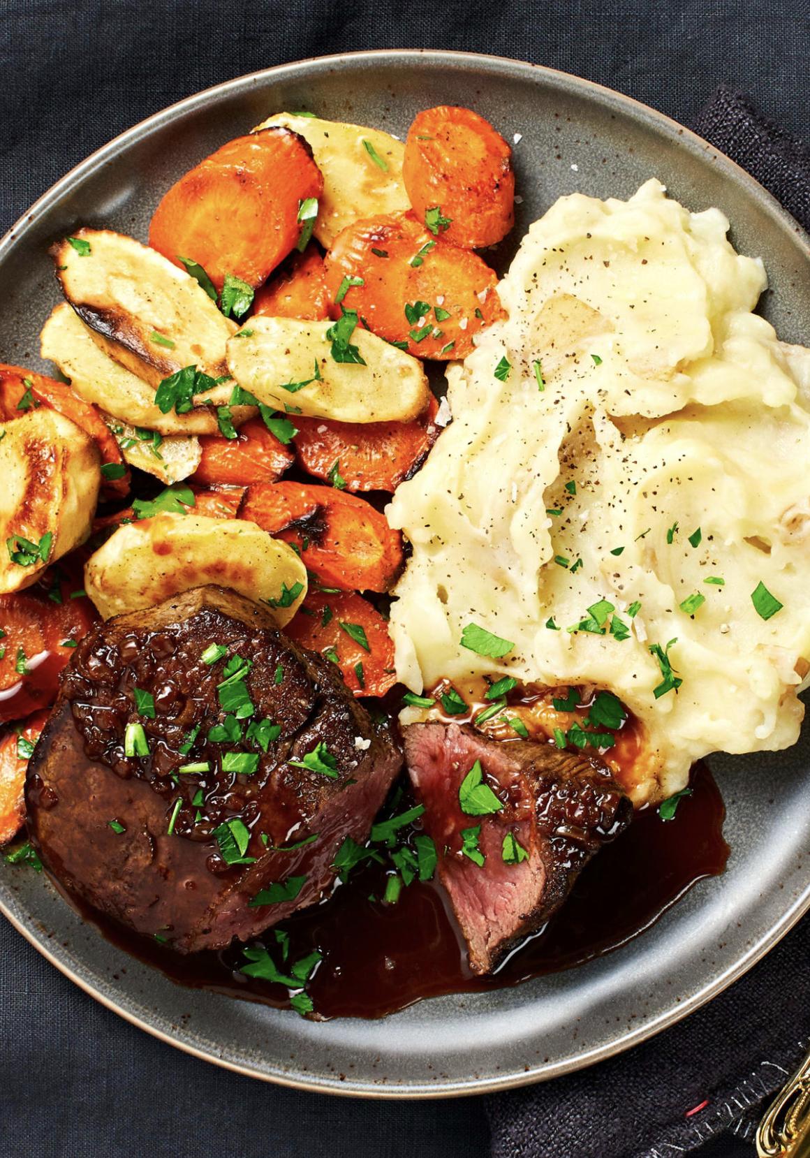 Beef Tenderloin With Brown Butter Veggies Recipe Hellofresh Recipe Hello Fresh Recipes Health Dinner Recipes Recipes