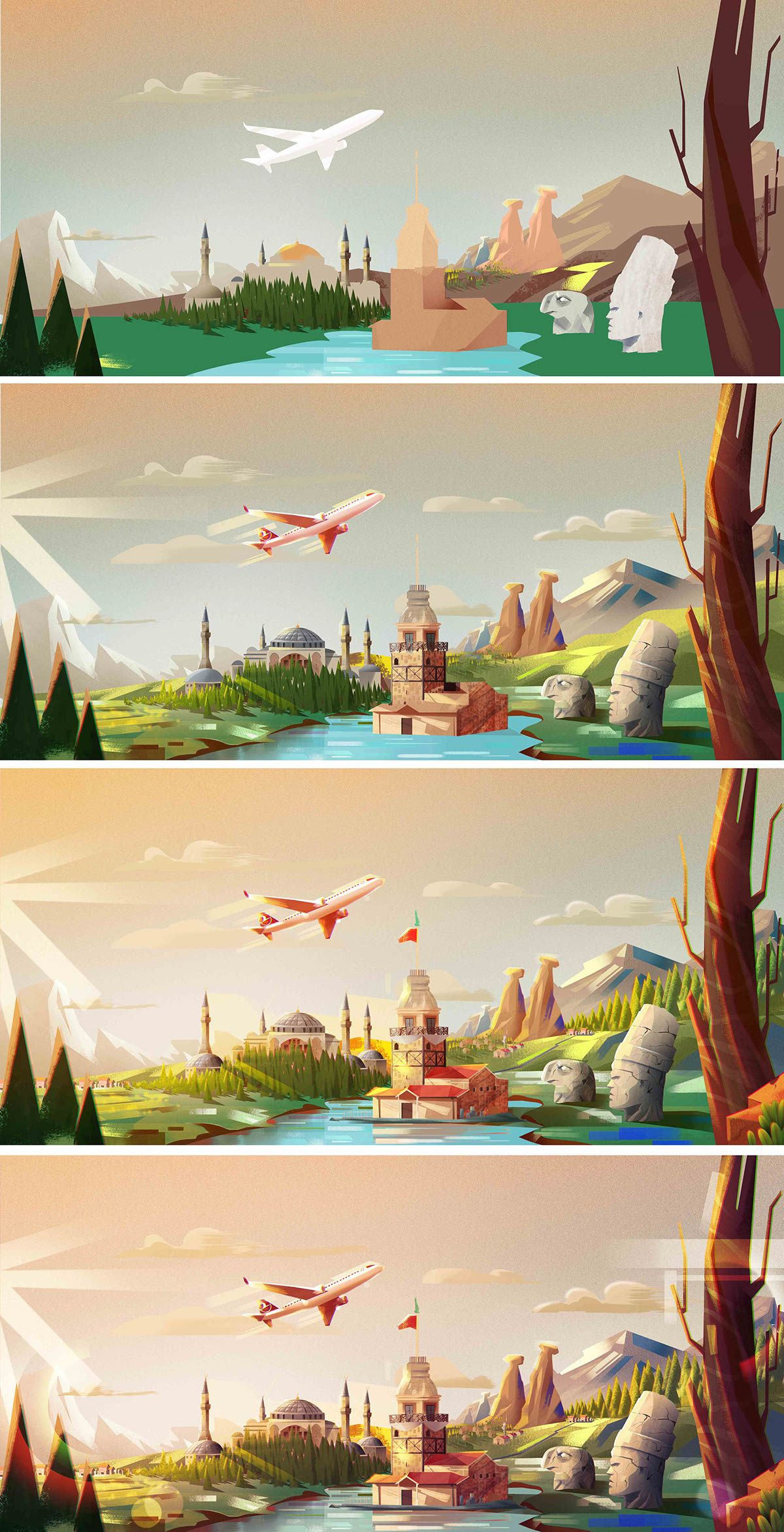 Turkish Airlines on Behance
