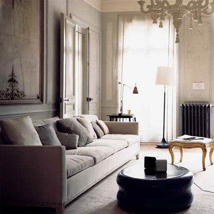 a classic and contemporary living room marie claire maison