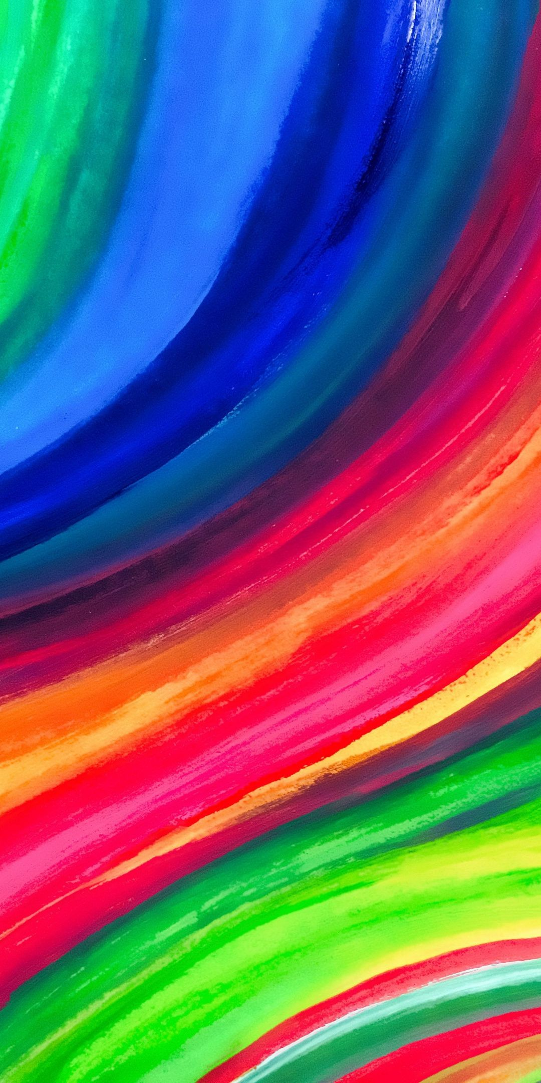 Iridescent Colorful Stripes Lines 1080x2160 Wallpaper Colorful Wallpaper Iphone Wallpaper Cellphone Wallpaper