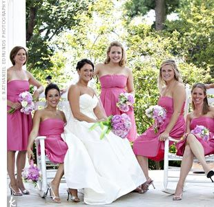 Pink Bridesmaid Dresses David's Bridal