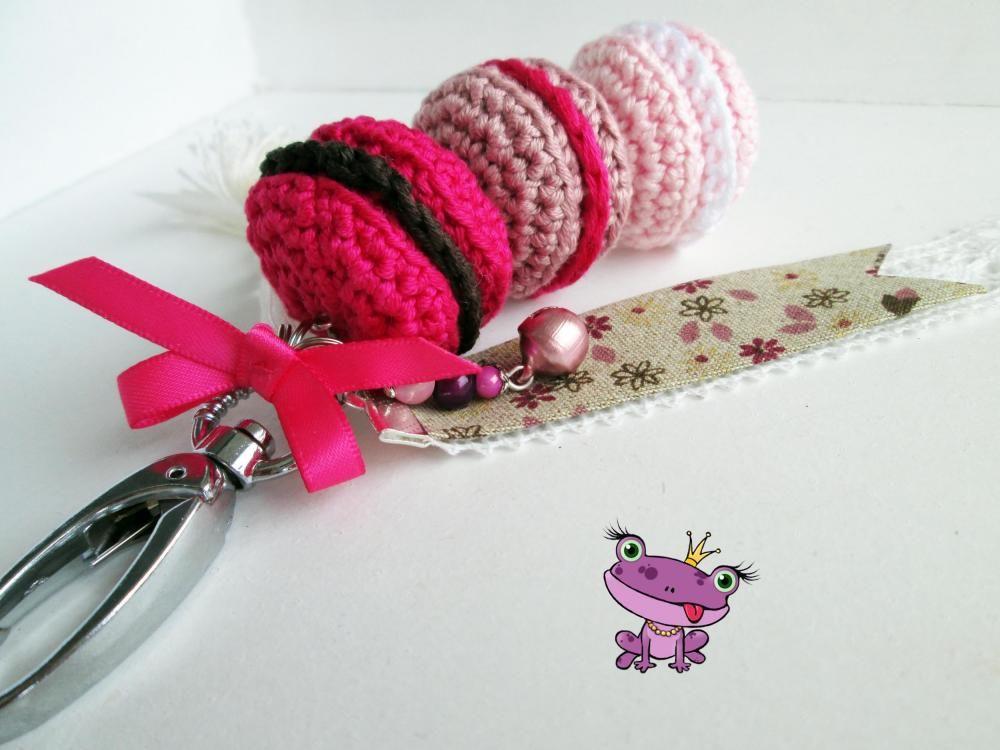 Bijoux De Sac Macarons Au Crochet Collection 39 Les 0 39 Par Larainettecoquette