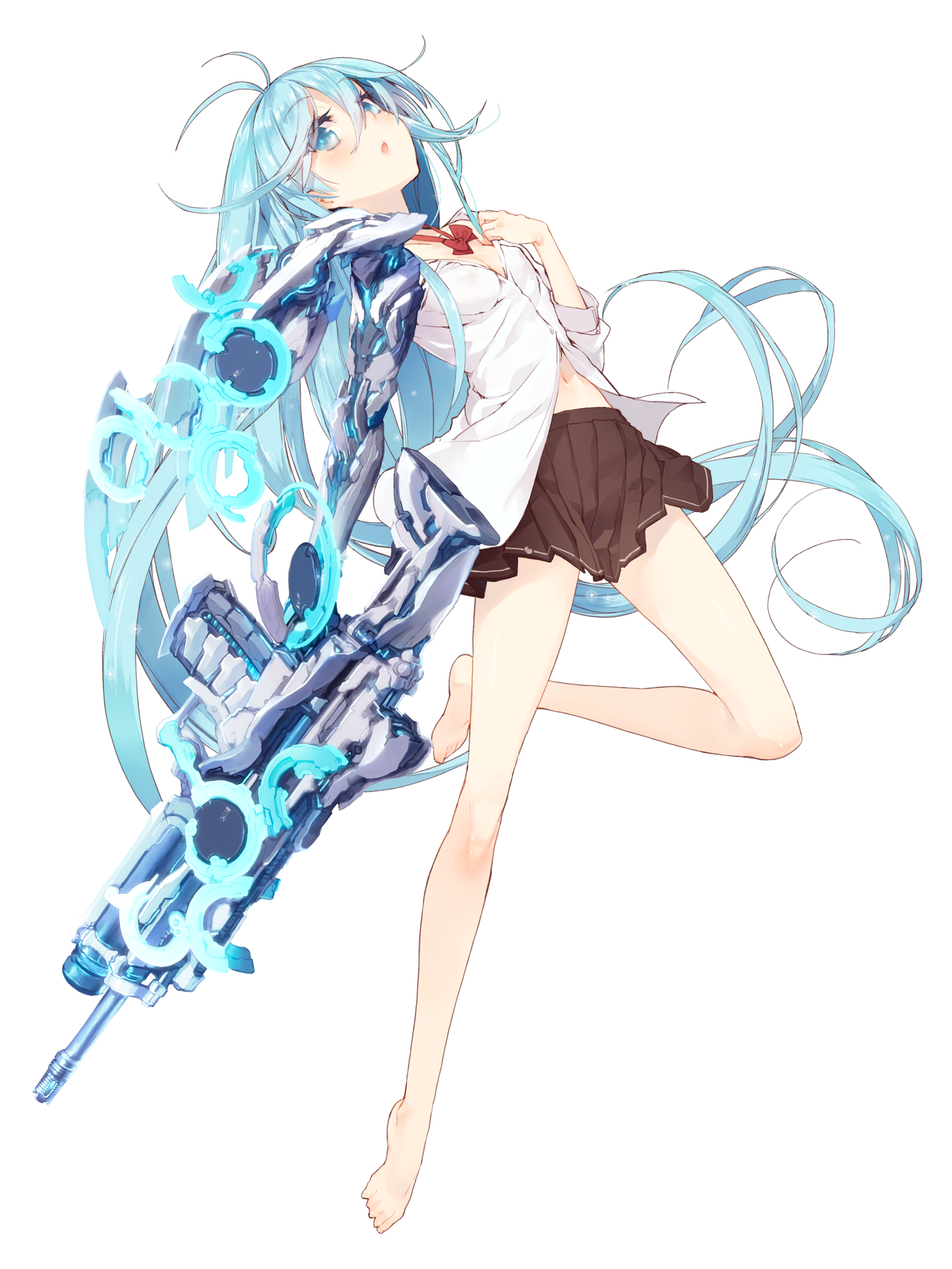 Shinyarts Animecutes から保存した Toss さんのアニメ女子高生
