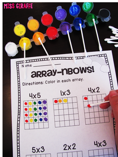How to Teach Arrays   Mathe, Schule und Mathematik