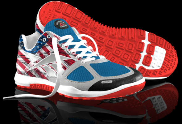 reebok crossfit shoes american flag