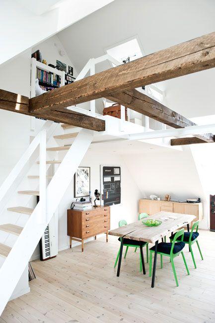 Gravity Interior   Nørrebro penthouse via heyhome