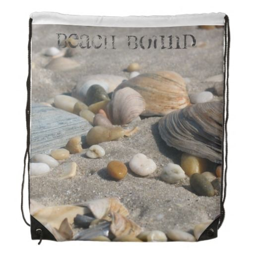 Beach Bound String Backpack