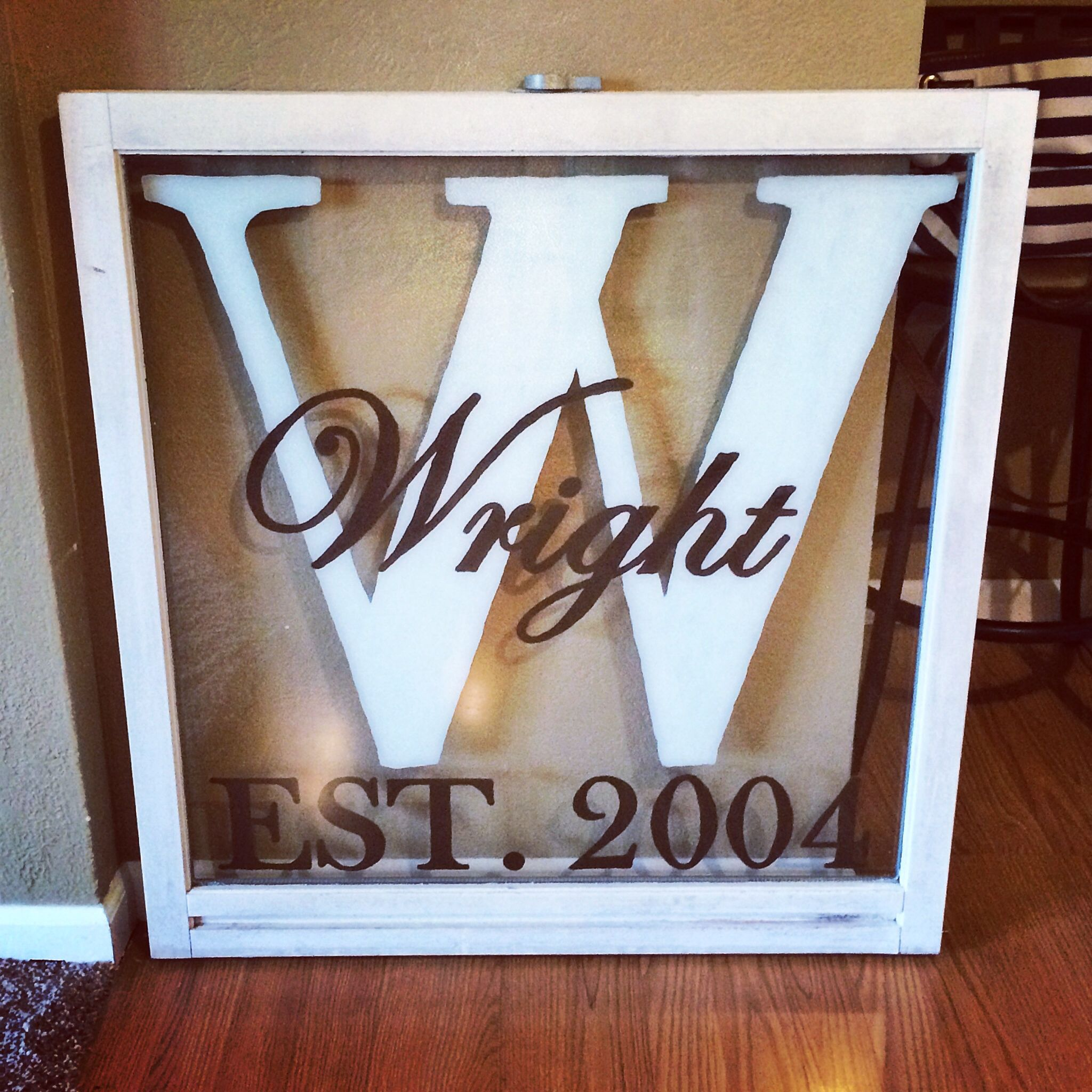 Upcycle Old Windows For Home Decor Signs