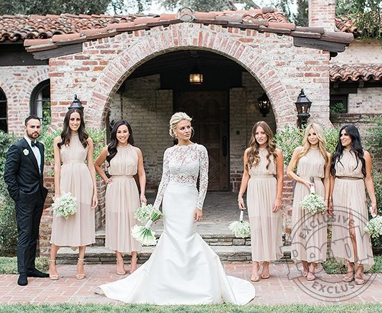 Morgan Stewart Bride And Bridal Party Wedding Dresses Two Piece