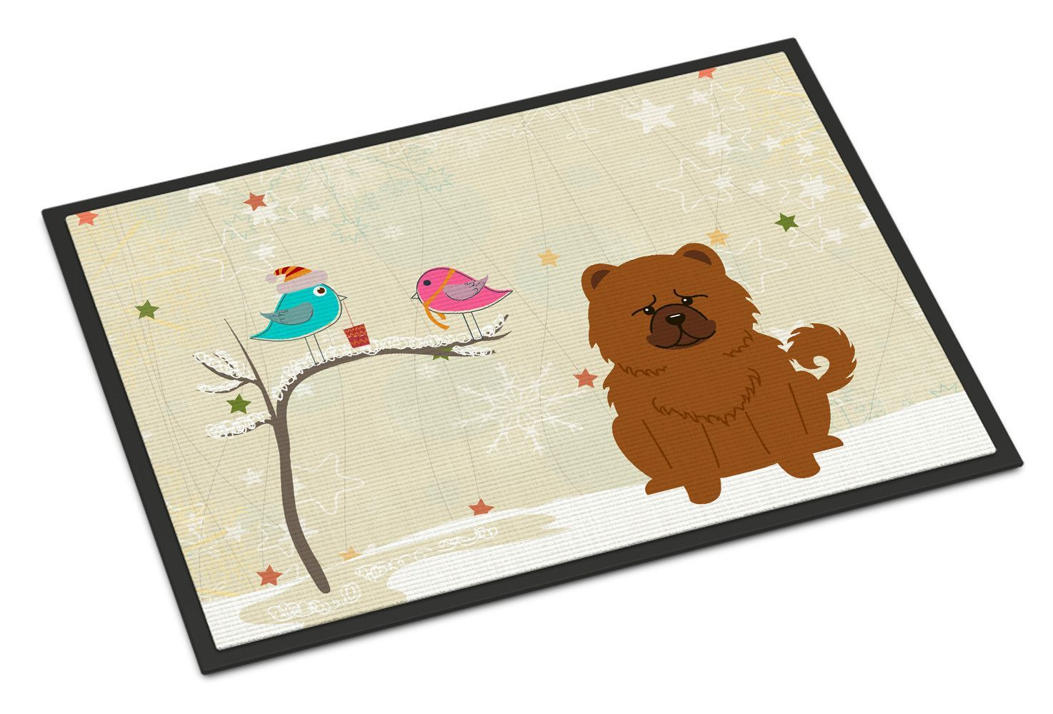 Christmas presents between friends chow chow doormat products