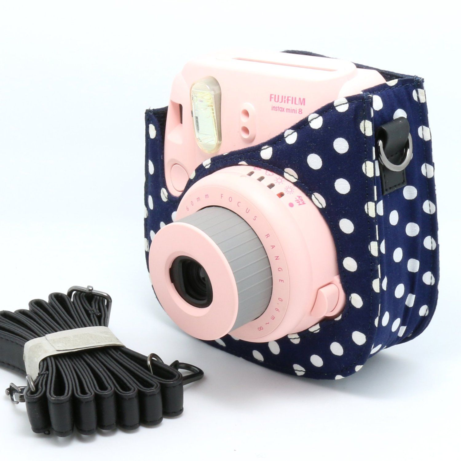 Instax Mini 8 Camera Case Amazon Com Nodartisan Colorful Dots