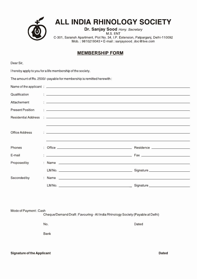 Free Registration Forms Template Lovely Medical Registration Form Format Template Business Budget Template Registration Form Templates