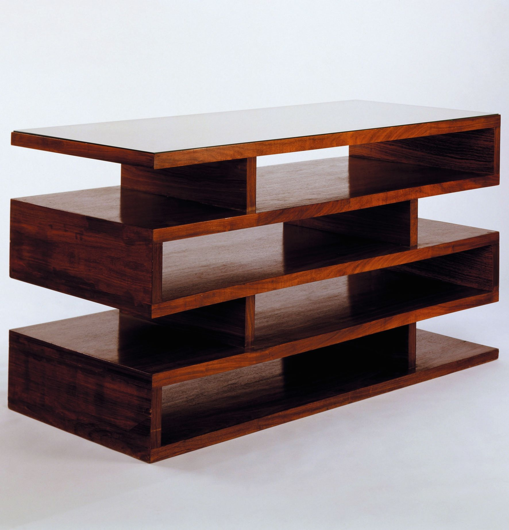 Walter Gropius; Newspaper Shelves, 1923. Bauhaus furniture