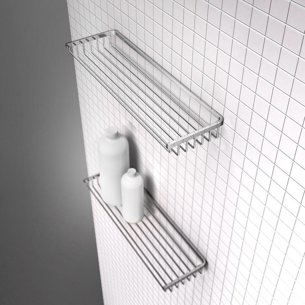 by Cosmic Line Jabonera de Ducha Acero Inoxidable Cromo Bath