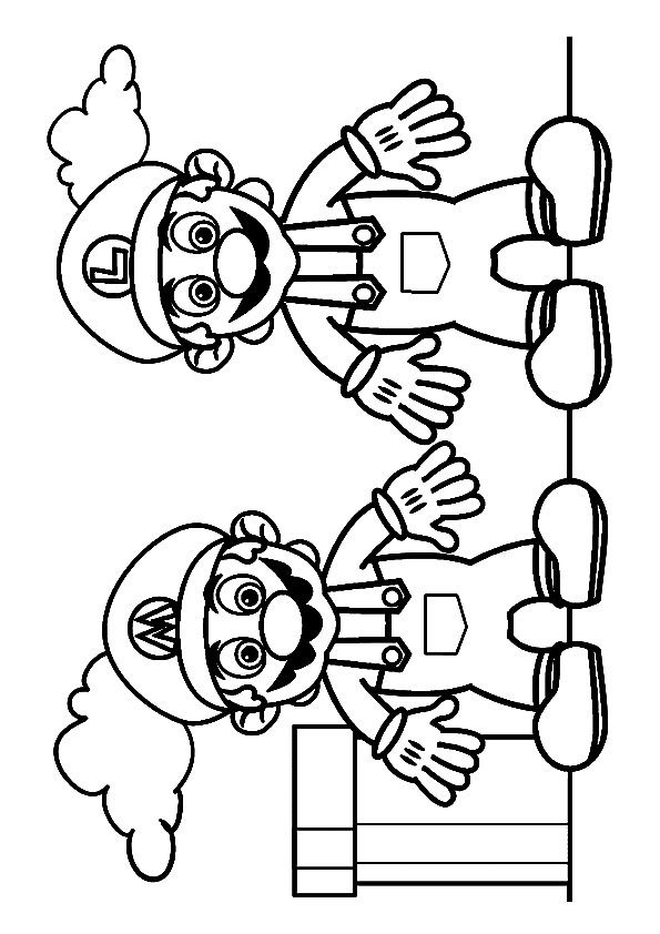 Print Coloring Image Momjunction Coloring Pages Quote Coloring Pages Super Mario Art