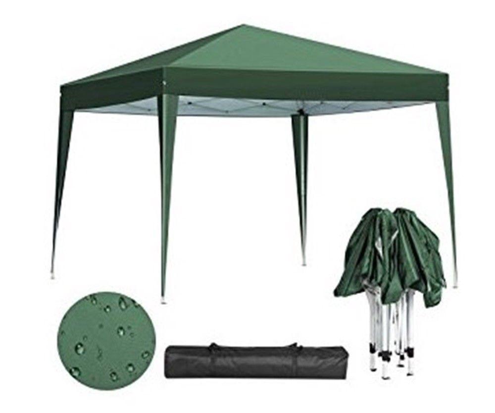 Pop Up Canopy Tent Folding Gazebo Waterproof Uv Shelter Outdoor