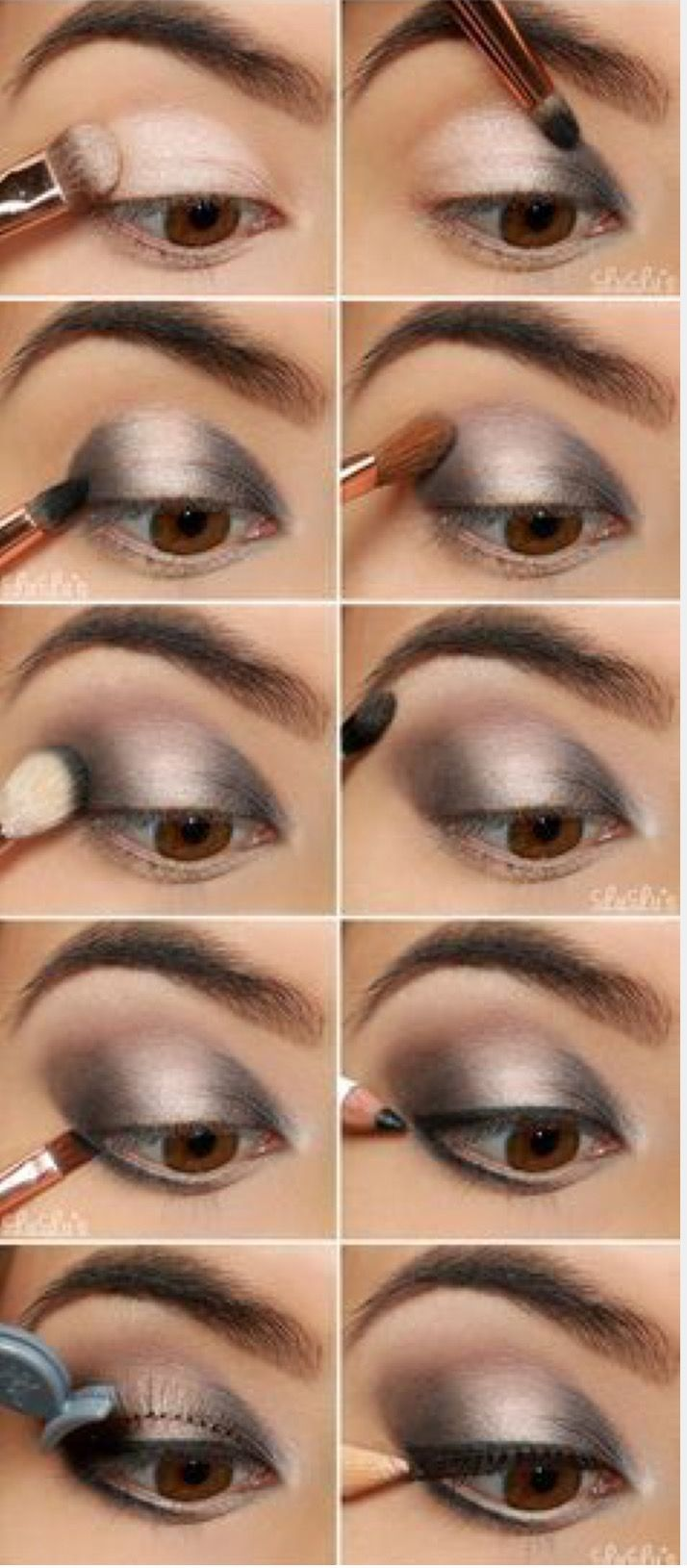 Pin By Lorena Del Rosario On Maquillaje Make Up Smokey Eyes