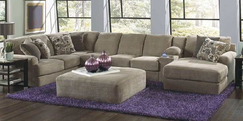 4 Piece Puzzle Sectional Sofa