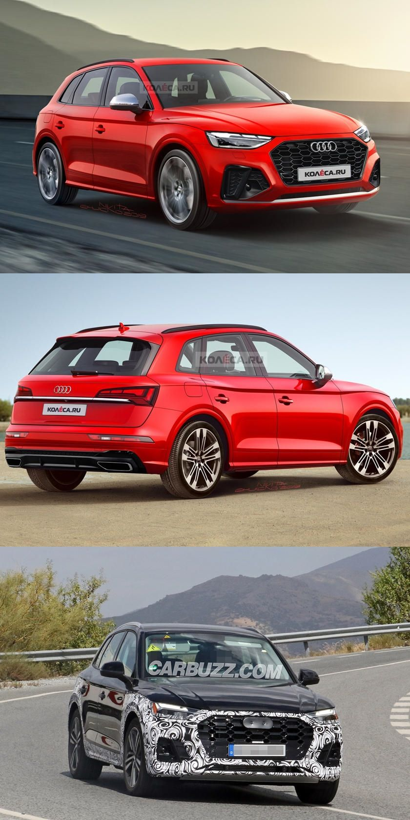 Looks Like Audi Wants To Join The Coupe Crossover Craze The Upcoming Q5 Facelift Will Reportedly Spawn A New Sportback Version In 2020 Audi Coupe New Suv