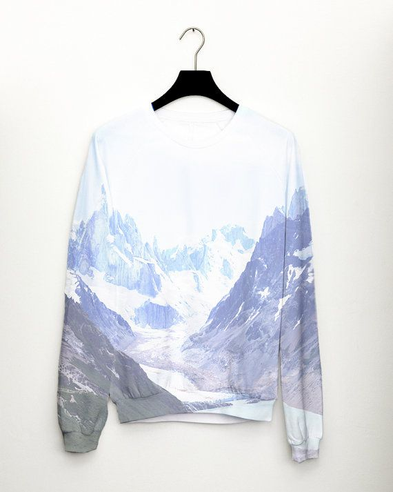 Mountain Womens Sweater Full Print by csera AW14