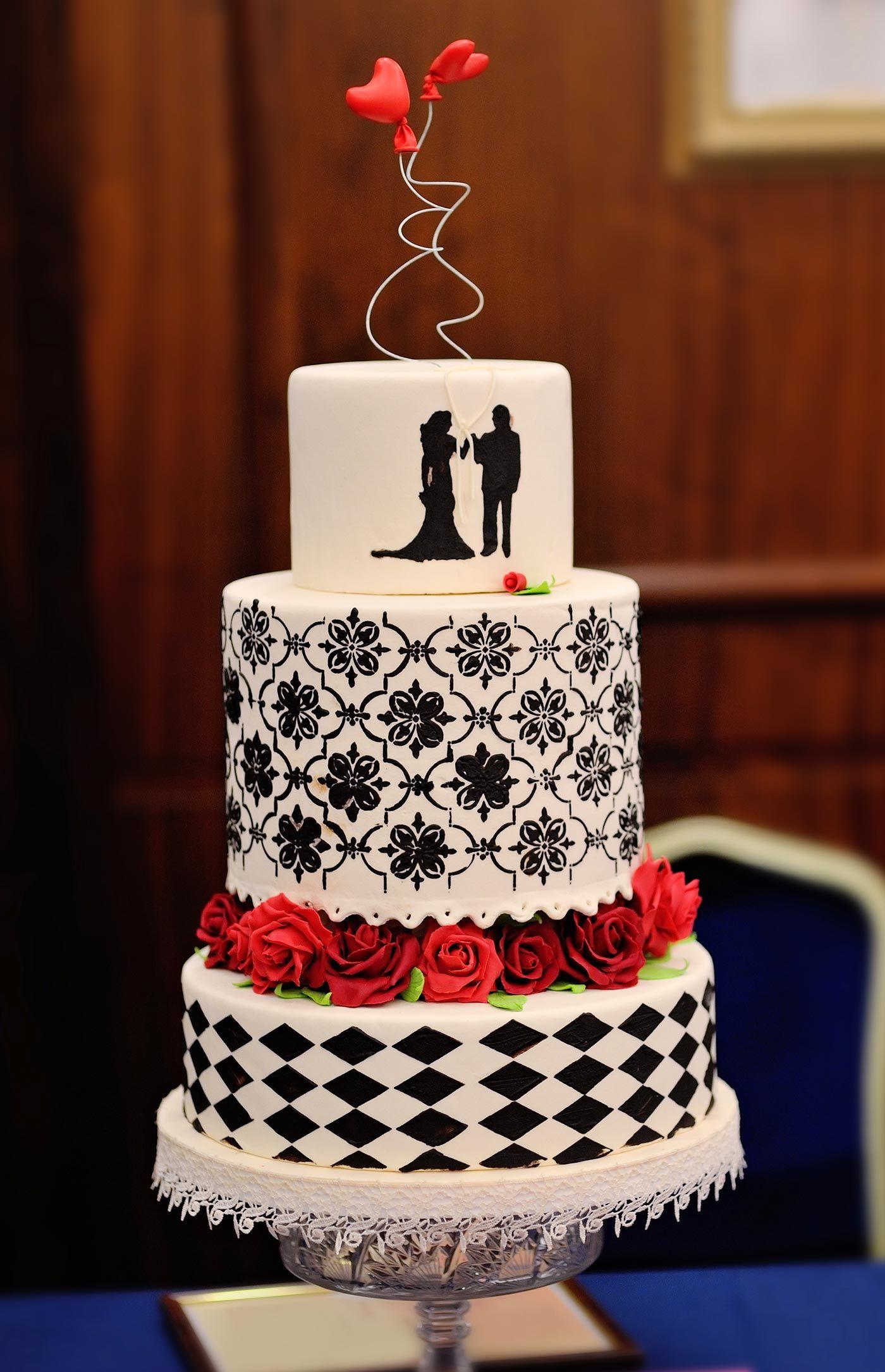 Rockabilly Hochzeitstorte Hochzeitstorten Pinterest Wedding