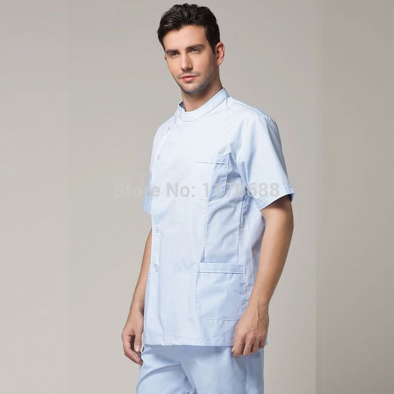 Male Doctor Clothing Dentist Clothes Lab Coat Suit Medical ...