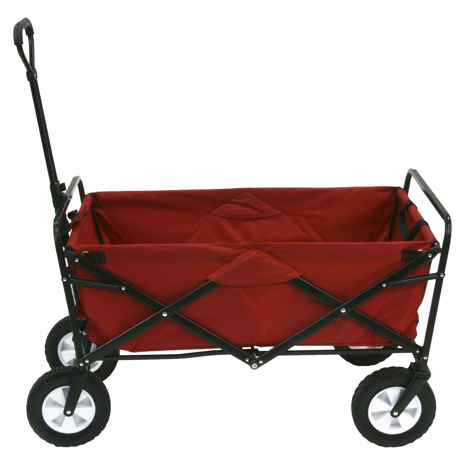 Mac Sports Folding Wagon Red Folding wagon, Utility
