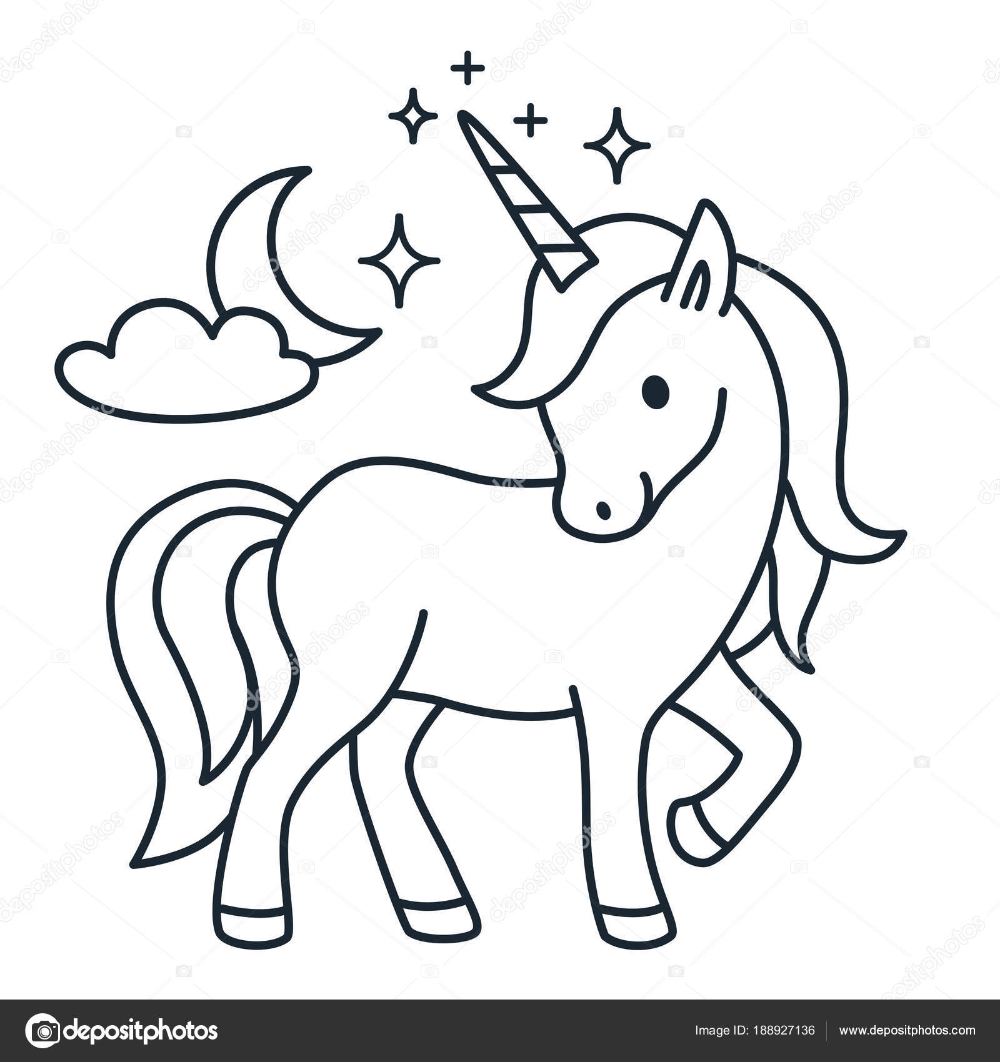 Dibujo Unicornio Para Pintar Buscar Con Google Unicorn Drawing Cartoon Drawings Animal Coloring Books