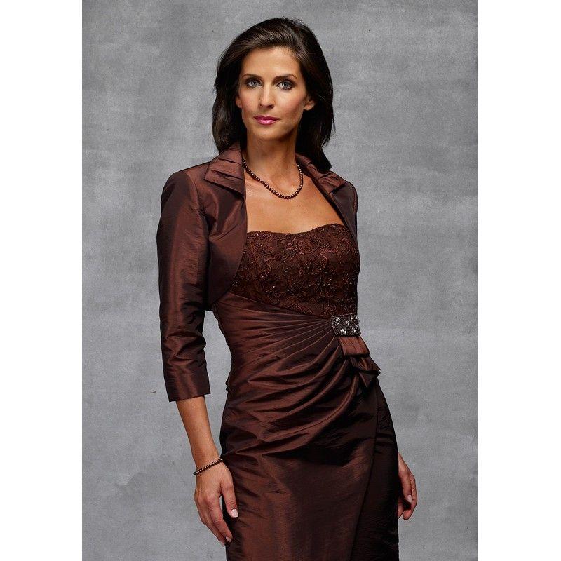 mother of groom dresses long | ... Jacket Dresses Tea ...