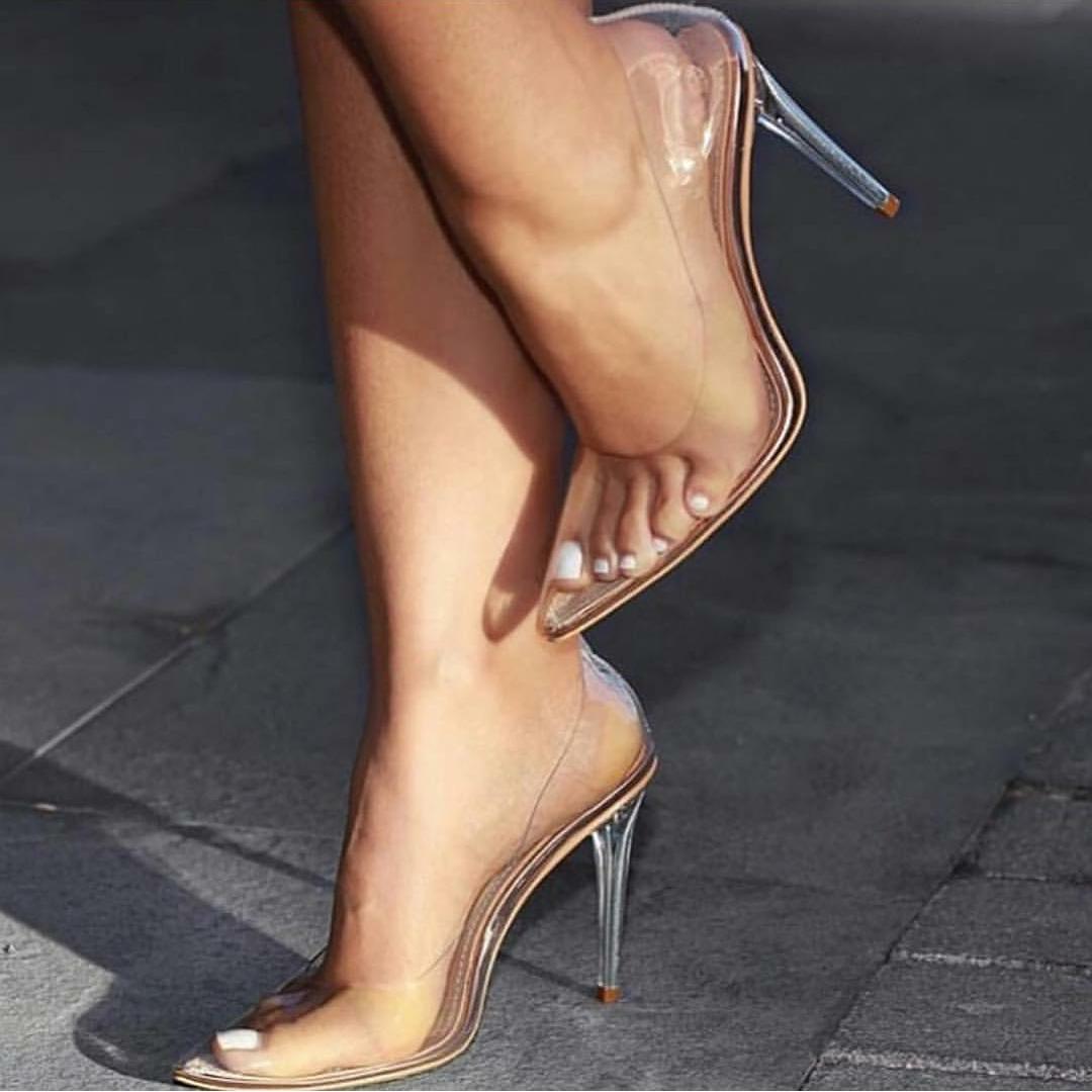 Modern day Cinderella shoes