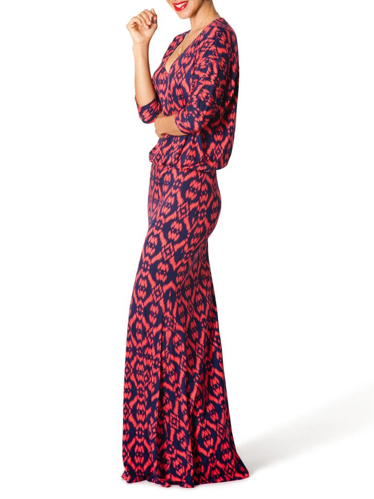 Giselle printed vneck maxi dress fabulous things to wear