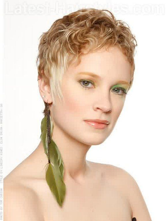 Pixie cut for curly hair for women with very short hair Hair Styles