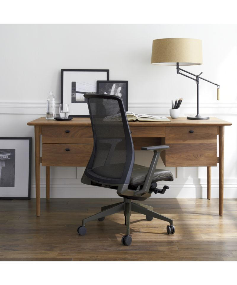 Kendall Walnut Desk With Images Walnut Desks Home Office