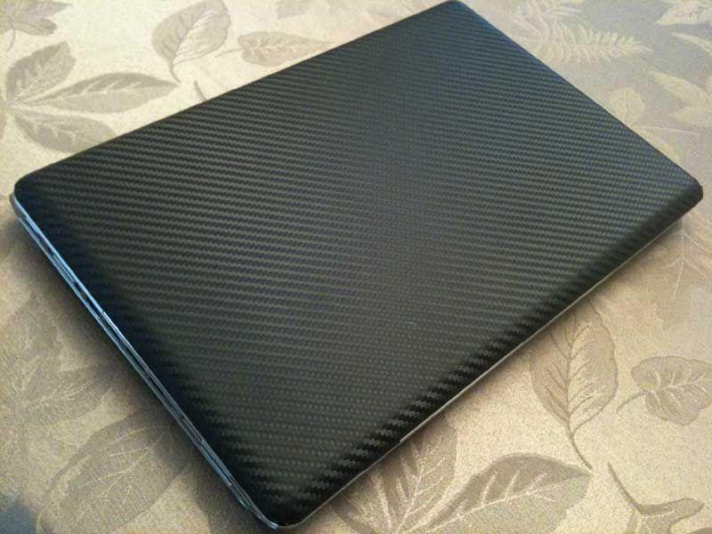 Carbon Fiber Laptop Skin Carbon Fiber Wrap Carbon Fiber Vinyl Wrap