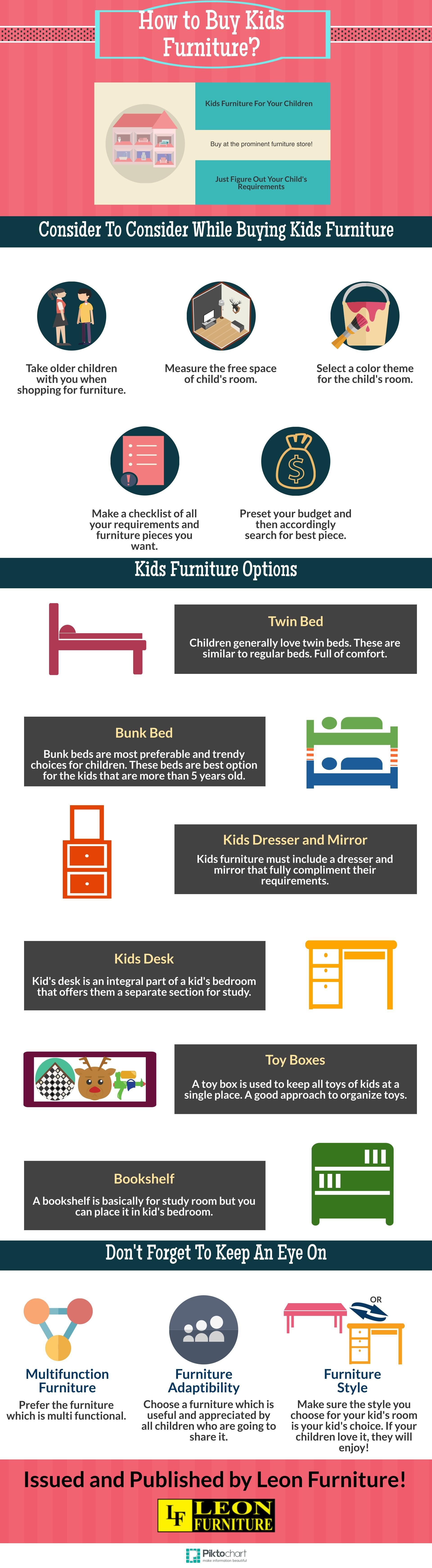 how to buy kids furniture #infographic | kids furniture