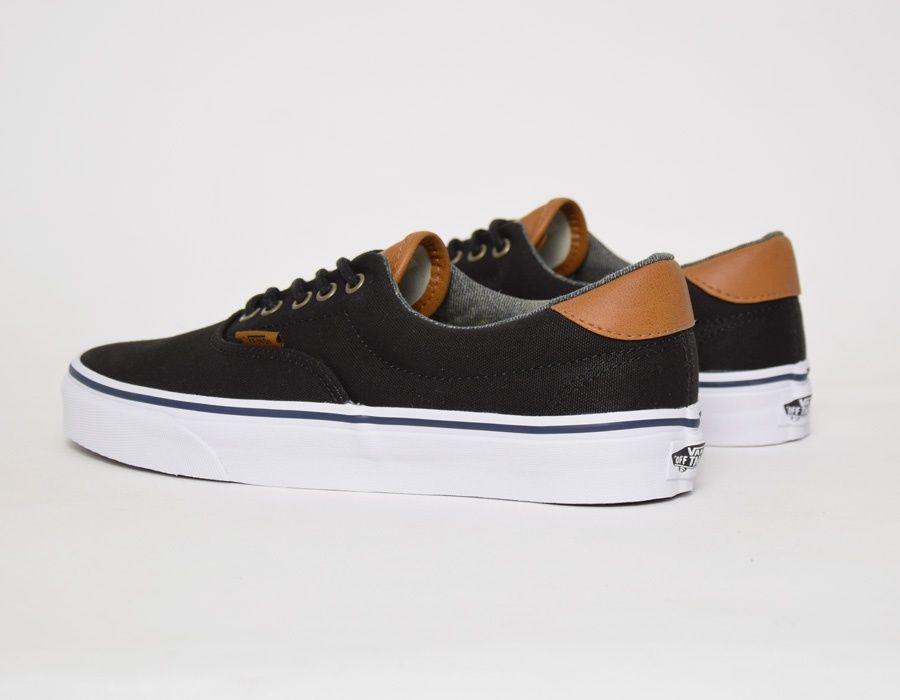 8a52abc92a  Vans Era 59 CL Black Washed  sneakers Vans Shoes Outfit