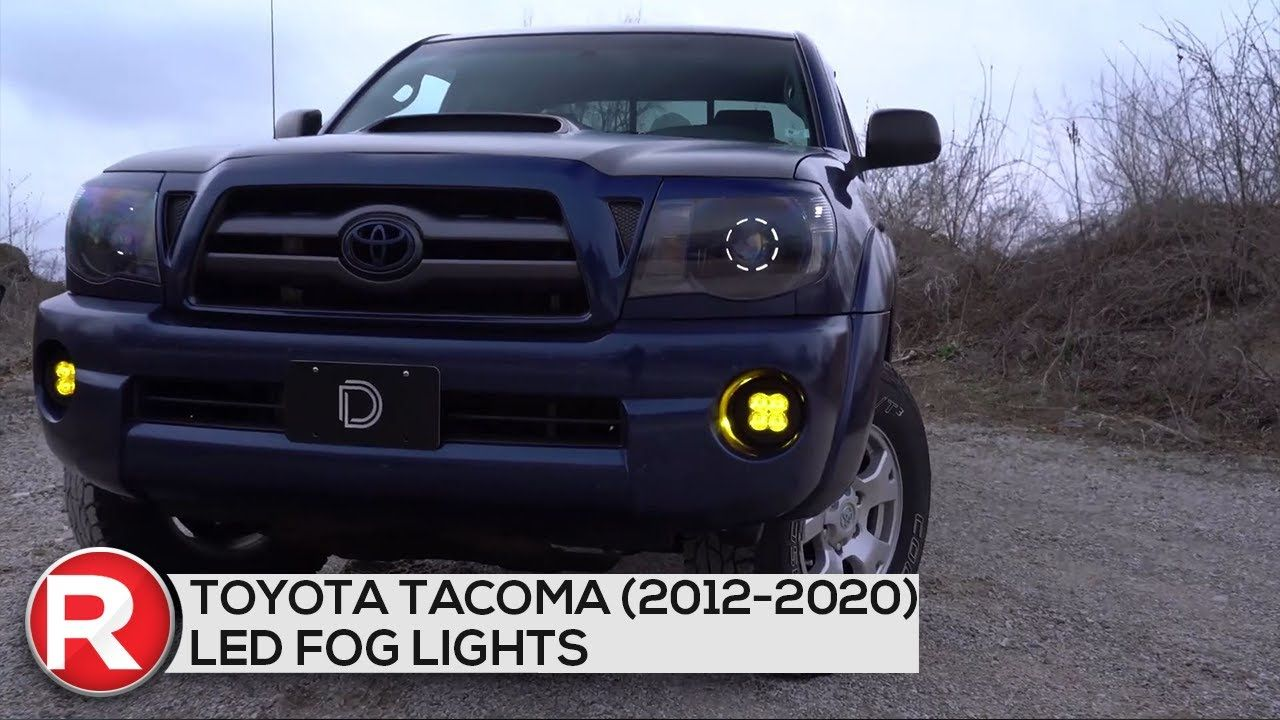 Pin By Redline360 On Toyota In 2021 Toyota Tacoma Led Fog Lights Toyota