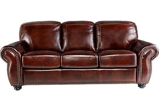 Gabriello Leather Sofa Rooms To Go