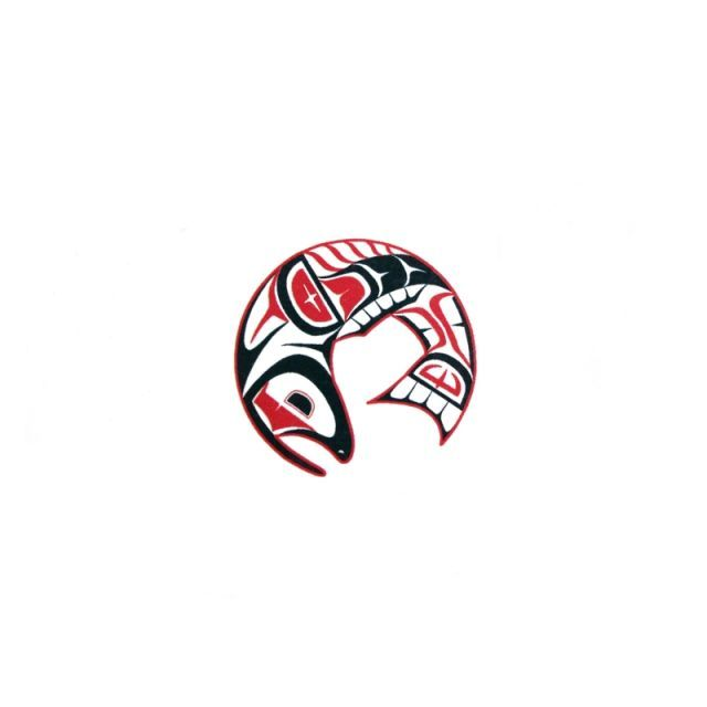 pacific northwest native american temporary tattoo salmon pacific northwest shop tattoos. Black Bedroom Furniture Sets. Home Design Ideas