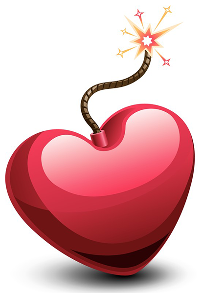 Heart with a Fuse | Clip art, Valentine heart and Happy heart