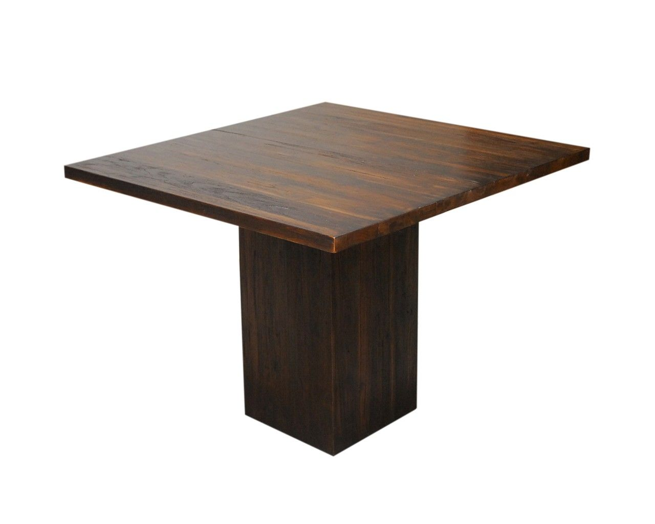 Square Wood Dining Tables dining-room : dark wood square table contemporary teak dining